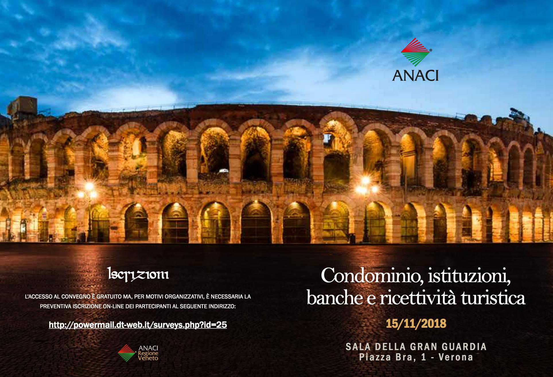 Condominio, Istituzioni, Banche e Ricettività Turistica